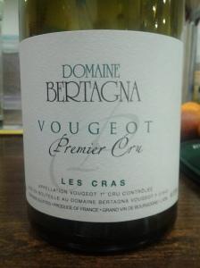 Bertagna Vougeot Cras 2006