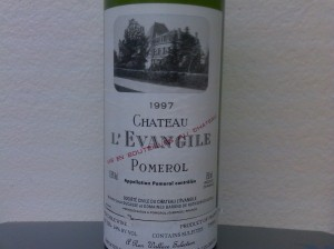 Château l'Evangile, Pomerol 1997
