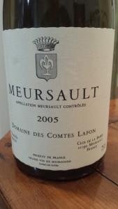 Comtes Lafon Meursault 2005 #2