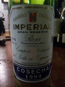 Cune Imperial Rioja Gran Reserva 1994