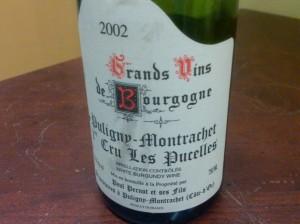 Domaine Paul Pernot, Puligny-Montrachet Les Pucelles 1er Cru 2002