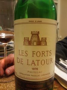 Les Forts de Latour, Paulliac 1978