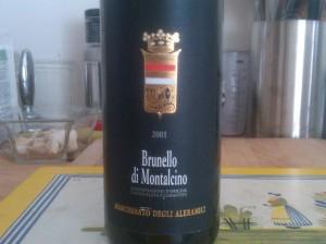 Aleramici Brunello 2001 #1
