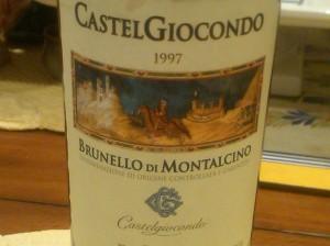 Frescobaldi Brunello 1997