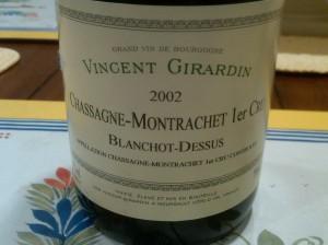 Girardin Blanchots 2002