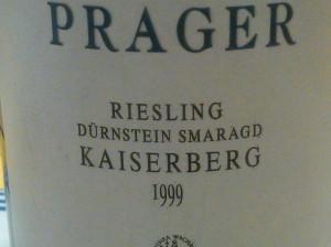 Prager Riesling 1999 #3