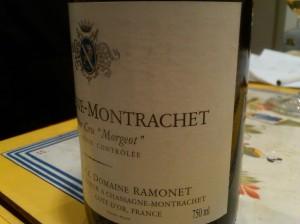 Ramonet Chassagne Morgeot 2000 #1
