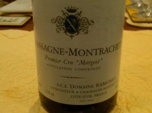 Ramonet Chassagne Morgeot 2000 #2