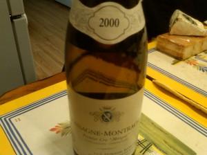 Ramonet Chassagne Morgeot 2000