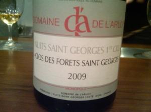 Arlot Forets 2009