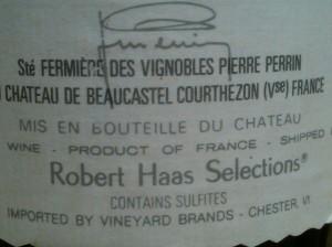 Beaucastel 1988 #4