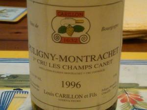 Carillon Puligny Canet 1996 #1