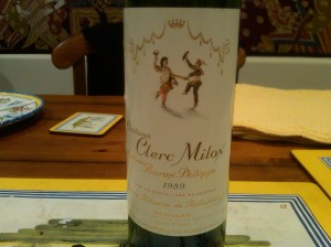 Clerc Milon 1989 #2