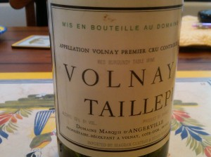 D'Angerville Volnay Taillepieds 1995