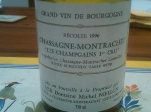 Domaine Michel Neillon Chassagne Champgains 1996