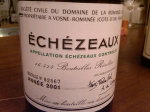 DRC Echezeaux 2001