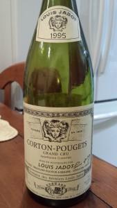 Jadot Corton Pougets 1995 #1