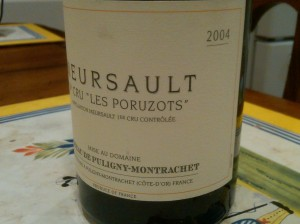 Chateau de Puligny Montrachet Puligny Poruzots 2004 #3