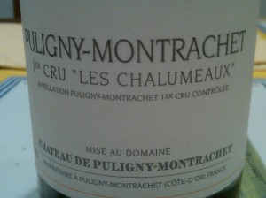 Chateau du Puligny Montrachet Puligny 2004 #1