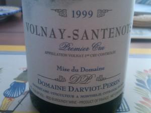 Darviot Perrin Volnay Santenots 1999 #1