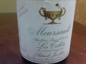 Patrick Javillier Meursault Tillets 2002 #1