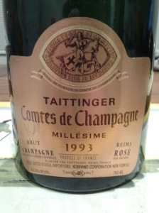 Taittinger Rose 1993 #2