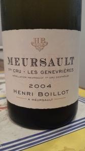 Boillot Meursault Gen 2004 #2
