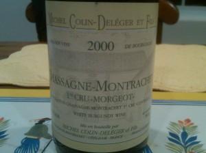 Deleger Chassagne Morgeot 2000