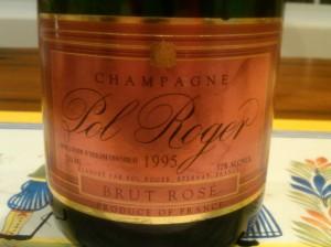 Pol Roger Rose 1995 #3