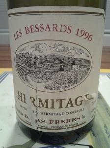 Delas Freres Hermitage Bessards 1996