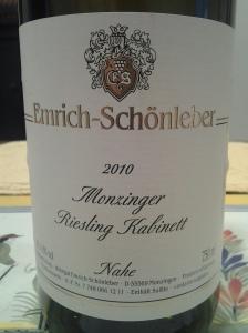 Emrich-Schonleber Kabinett Monzinger 2010