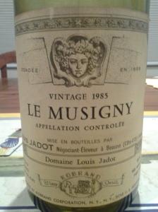 Jadot Musigny 1985 #6