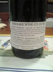 Rare Wine Company Mesnil BDB NV #2