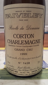 Faiveley Corton Charlemagne 1999 #3