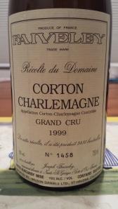 Faiveley Corton Charlemagne 1999 #3