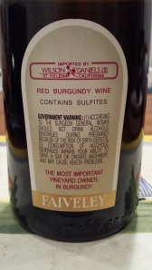 Faiveley Corton Charlemagne 1999 #4