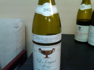 Gros Frere Vougeot 2002 #1