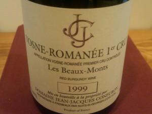 JJ Confuron Beaux Monts 1999