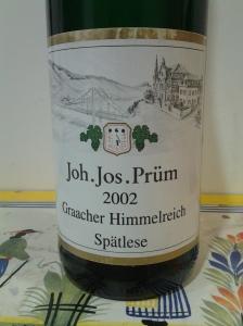 JJ Prum Spatlese Graacher Himmerich 2002
