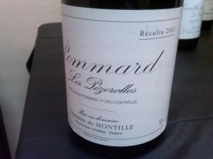 Montille Pommard Pezerolles 2002