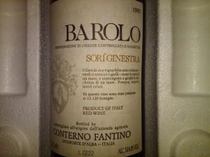 Conterno Fantino Barolo Ginestra 1997