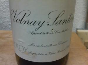 Leroy Volnay Santenots 1999