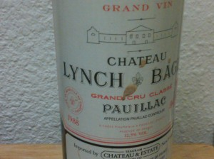 Lynch Bages 1988