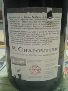 Chapoutier Joseph Granits 2003 #1
