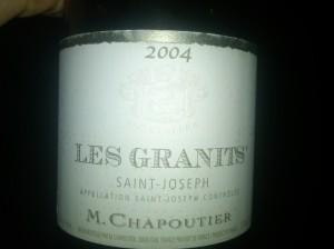 Chapoutier Joseph Granits 2004