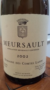 Comtes Lafon Meursault 2002 #1