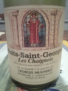 Georges Mugneret Nuits Chaignots 1985