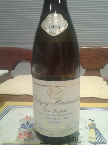 Sauzet Puligny Referts 1999 #2