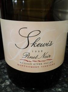 Skewis Pinot Montgomery 1998