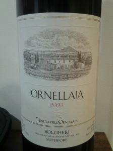 Ornellaia 2003